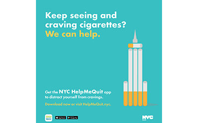 "Health Dept Launches ""Help Me Quit"" App to Help New Yorkers Quit Smoking"