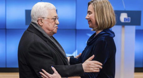 """Abbas Seeks EU Support for Recognition of State of """"Palestine"""""""