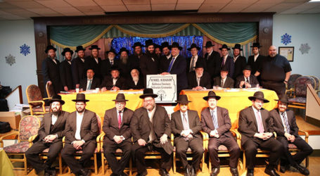 Hundreds Gather in Bensonhurst to Celebrate the 9th Chag HaSmicha of Kollel Ayshel Avraham