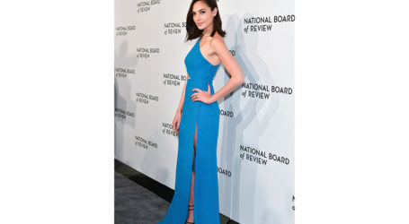 Gal Gadot Sparks Controversy; Wears Dress by Lebanese Designer