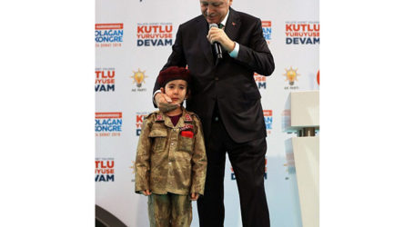 Erdogan Tells 6-Year Old Girl She Would Get Honors if Martyred