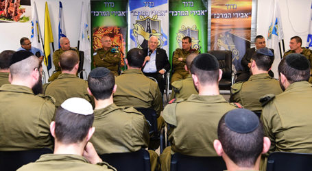 Israel's President to Haredi Soldiers: Don't Stop  the Torah Study of Talmidei Chachamim