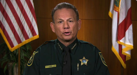 Sheriff Israel Refuses to Resign; Won't Take Blame for Failure of Deputies in FL Massacre