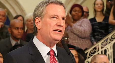 DeBlasio Supports NYC School Walkout to Protest Gun Violence After Parkland Massacre
