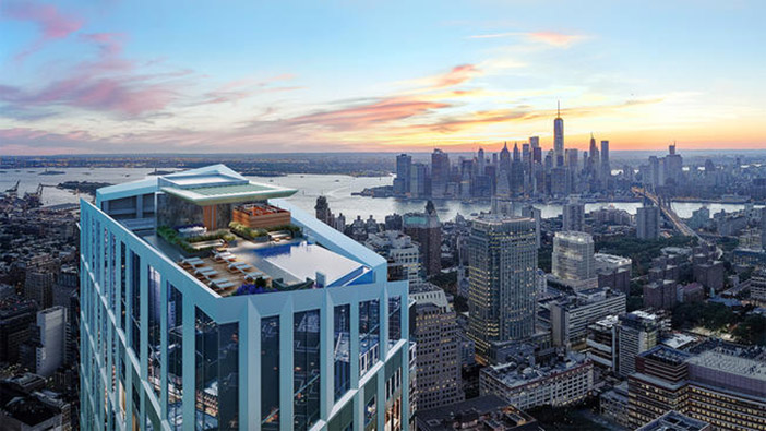 Gary Barnett to Build the Highest Rooftop Pool in Brooklyn - The