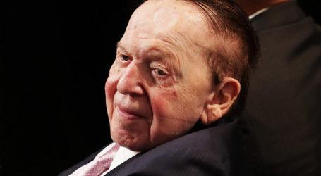 Philanthropist Sheldon Adelson Offers $5B to Build US Embassy in Jerusalem