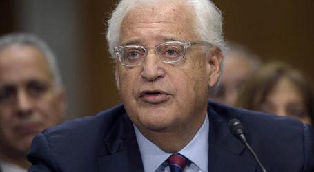 Ambassador Friedman Slams PA Over Failure To Condemn Terrorist Attacks