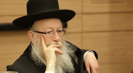 Tensions Mount as Litzman Threatens Coalition's Stability