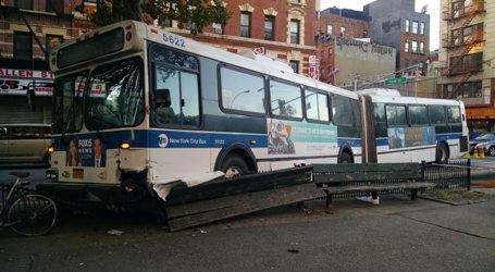 Safety Issues on MTA Buses – Over 21K Crashes in 3 Years Raise Concerns