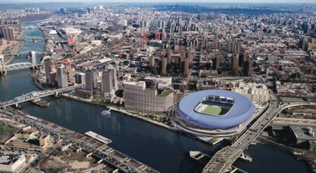 NYCFC's New Soccer Stadium May Land Over a South Bronx Rail Yard