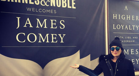 """Comey """"Speechless"""" During NYC Book Tour; Confronted at B&N by Jewish Journalist"""