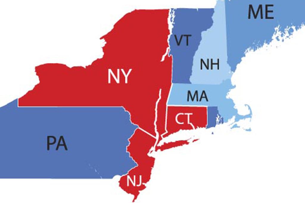 tri-state area