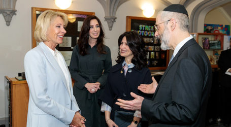 Jewish Education Spotlighted as Secretary DeVos Visits Manhattan High School for Girls