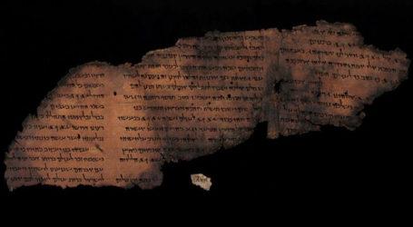 Hidden Script Uncovered in Fragments of Dead Sea Scrolls