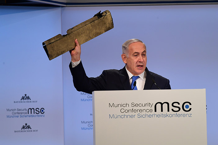 Netanyahu: There is no place for Iran in Syria