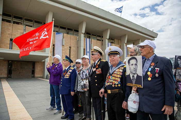 Russian Federation celebrates victory in World War II