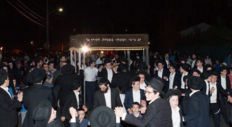 """Achdus"" Sefer Torah Dedicated in Memory of the Azan Family"