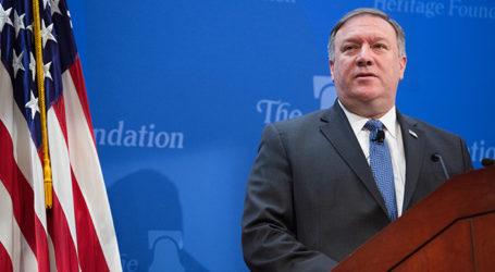 "Pompeo Unveils Next Step in US-Iran Policy; Sanctions to Be ""Strongest in History"""