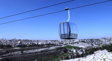 Israel to Invest NIS 200M to Build Cable Car to Old City of J'slm