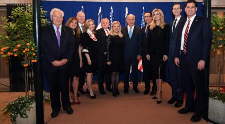 Netanyahu: Israel 'Eternally Grateful' to Trump for Embassy Move