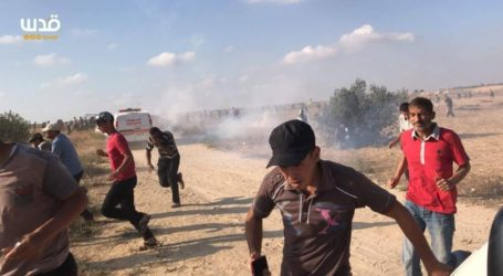 Thousands of Rioters Gather on Gaza Border; Plant Grenade, Burn Tires – Threaten More Violence on Tuesday
