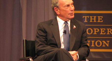 Bloomberg Pledges $80 Million to Back a Midterm Blue Wave