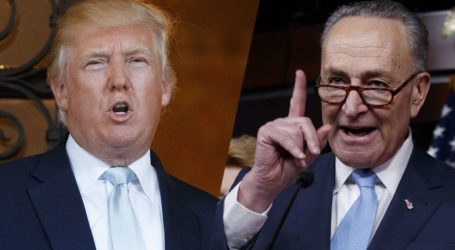 Trump Unleashes Tweet Storm On Schumer Over NK Remarks