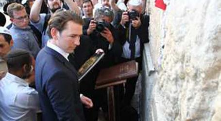 Austrian PM Sebastian Kurz Visits Western Wall, Yad Vashem