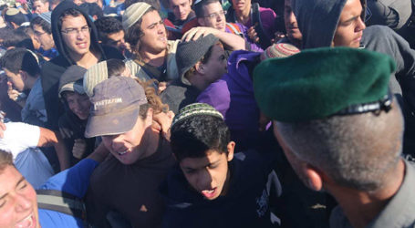 Security Forces Clash With Teen Protestors At Netiv Ha'Avot