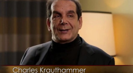 Charles Krauthammer Announces That He Only Has Weeks to Live