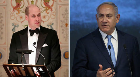 Prince William Arrives in Israel, Bibi Calls Visit Historic