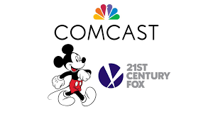 Comcast Enters Bidding War With Disney Over 21st Century Fox