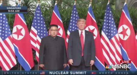 History Made as Trump & Kim Meet in Singapore; NoKo Pledges to Dismantle Nuke Program