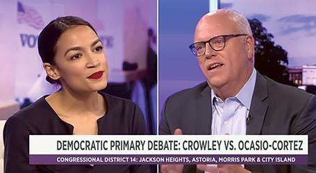 The Jewish Voice Says: We Must Support and Encourage Crowley to Run Against  Ocasio-Cortez