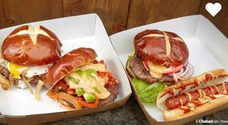 Brooklyn Food Cart Serves Up Kosher Artisanal Burgers & Judaism to Thousands