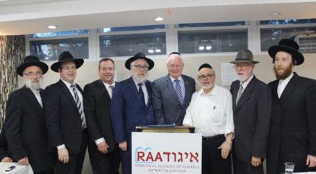 Rabbinical Alliance of America Hosts Senator Martin Golden