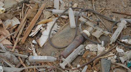 Syringes & Debris from NYC Removed from Jersey Beaches