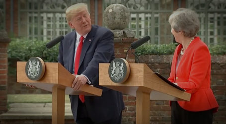Trump & UK Prime Minister Hold Joint Press Conference