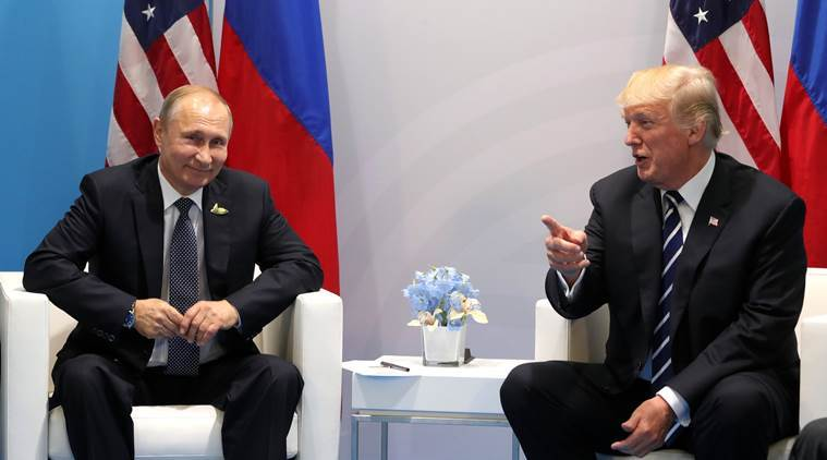 Trump, Putin meet in Helsinki for summit