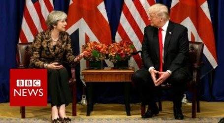 UK Gets a Dose Of Trump