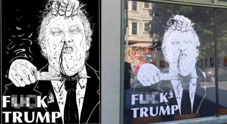 Art Gallery Displays ISIS Style Beheading Of Trump