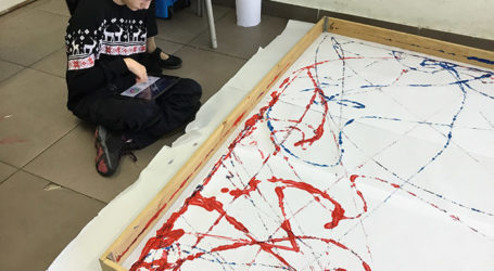 Robotics Program Makes Art Accessible to Israeli Youth with Disabilities