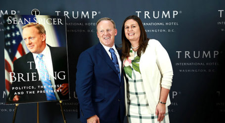 Sean Spicer Book Launch Gathers Elite Members of the Trump Administration