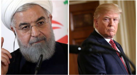"Trump Ready to Meet Iran; Rouhani Claims ""Mistrust"" After Nuke Deal Nixed"