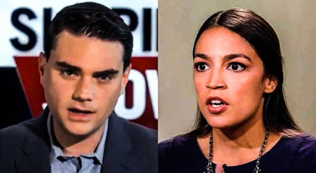 Ocasio-Cortez Runs from Conservative Ben Shapiro's $10K Offer to Debate