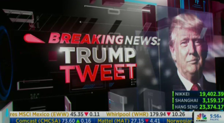Trump Destroys CNN, NBC & Big Media in Tweet Fury