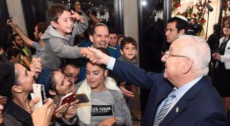 Israeli President Rivlin's Residence Open to Visitors for Sukkot 5779