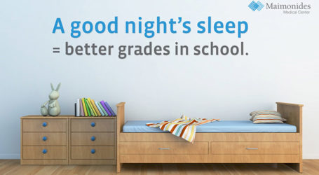 Maimonides Pediatric Specialist Encourages Healthy Sleep Habits for School Year
