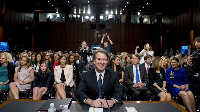 Kavanaugh Questioned On Controversial Abortion Opinion