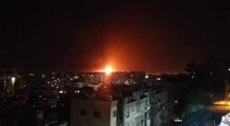 Syrian Human Rights Group Claims Israel Attacked Military Base in Damascus
